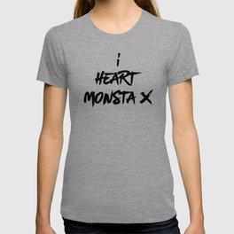 I Heart Monsta X - Monbebe T-shirt