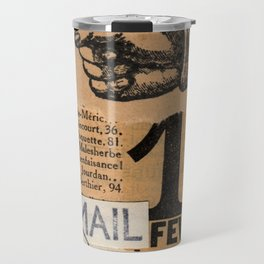 Air Mail Travel Mug