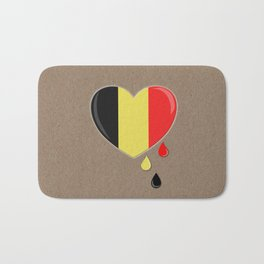 Crying for Belgium Brussels Bath Mat
