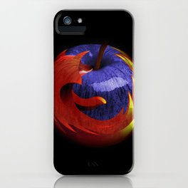 Mozilla Fire Apple iPhone Case