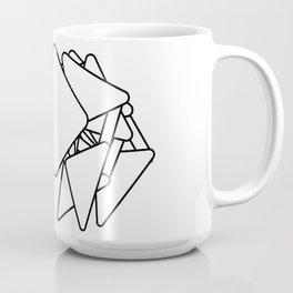 Humble Velocipede outline Coffee Mug