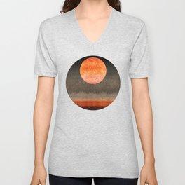 """Sabana night light moon & stars"" Unisex V-Neck"