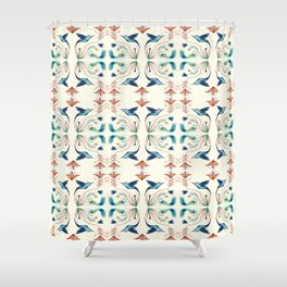 Natural rhythm Shower Curtain