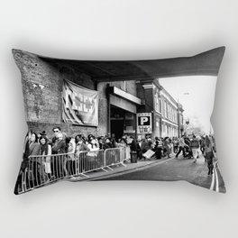 Along Brick Lane Rectangular Pillow