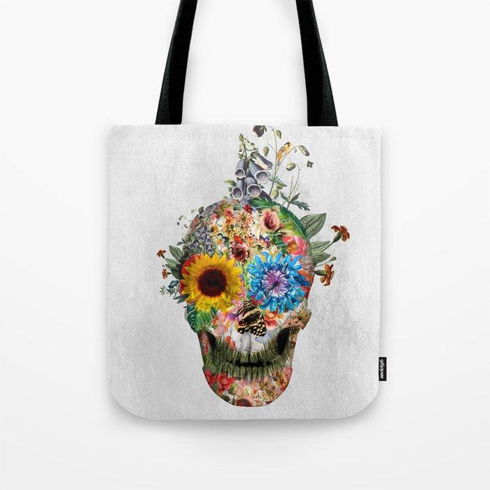 Skull - Punks Not Dead II Tote Bag
