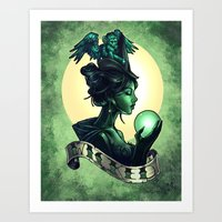 wicked Art Prints featuring WICKED by Tim Shumate