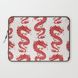 Chinese Dragon – Crimson Palette Laptop Sleeve