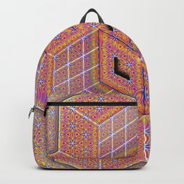 Flower of Life Cube Backpack