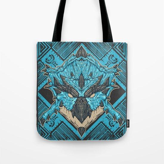 Hunting Club: Azure Rathalos Tote Bag