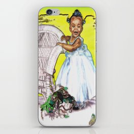 LITTLE CITY ANGEL iPhone Skin