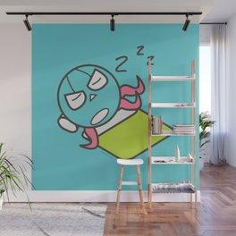 Sleeping Octopus Wall Mural