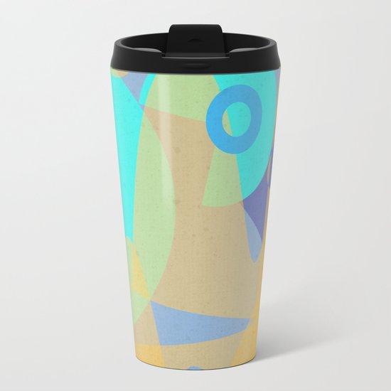 Big Wave Metal Travel Mug