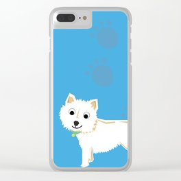 Coco Scottish terrier Clear iPhone Case