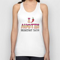 chile Tank Tops featuring I chile Austin by Black Oak ATX