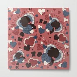 Valentine Candy Metal Print