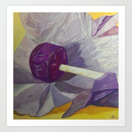 Lollipop Number 2 Art Print