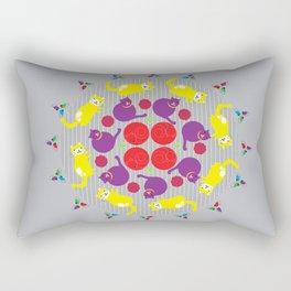 Fancy Felines Rectangular Pillow