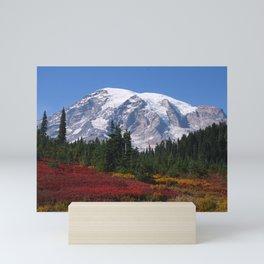 Mount Rainier Mini Art Print