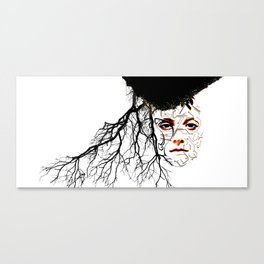 I Officially Exist Canvas Print