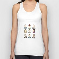 mad men Tank Tops featuring Mad Men by Steven Learmonth