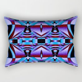 Stained Glass Collection Rectangular Pillow