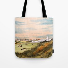 Royal Birkdale Golf Course Tote Bag