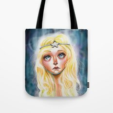 Celeste :: Pretty Little Scamp Tote Bag