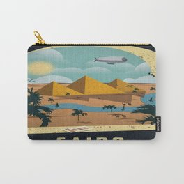 Vintage poster - Cairo Carry-All Pouch
