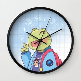 Space fan  Wall Clock