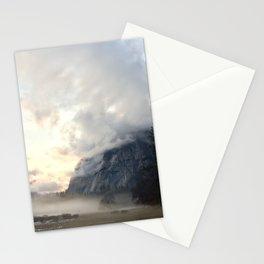 Yosemite Valley Mist Stationery Cards