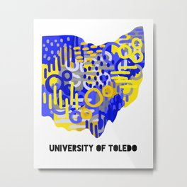 University of Toledo Metal Print