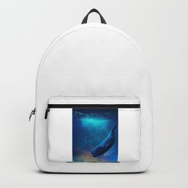 Blue Whale Backpack