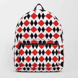 Red versus Black Backpack