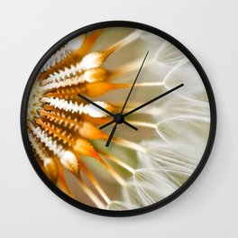 Common dandelion  Wall Clock