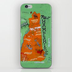 NEW HAMPSHIRE iPhone & iPod Skin