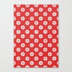 Poker Dots Canvas Print