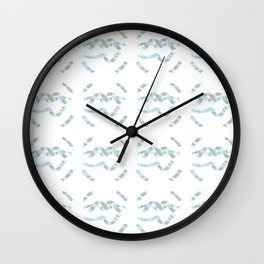 Laces of Snails Wall Clock