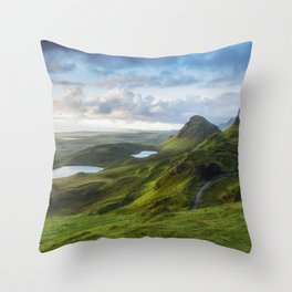 Up in the Clouds V Throw Pillow