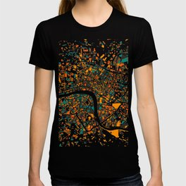 London Mosaic Map #4 T-shirt