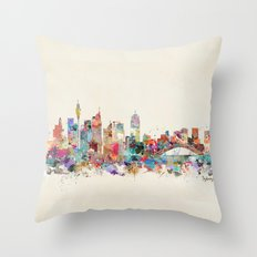 sydney australia Throw Pillow