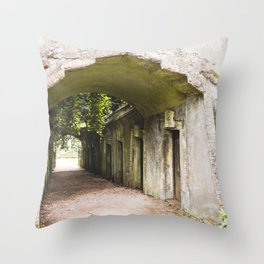 Highgate Cemetery, London - West Cemetery Throw Pillow