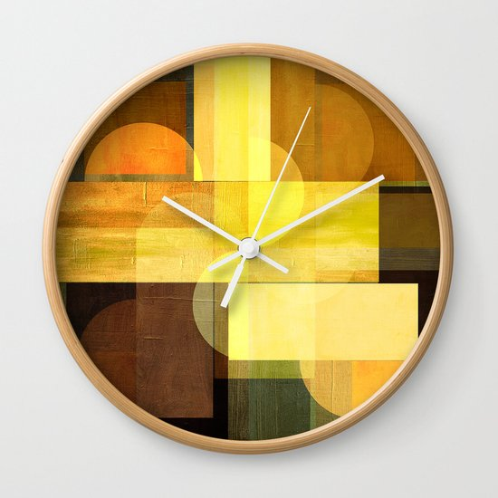 Textures/Abstract 92 Wall Clock