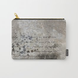 LETTER Carry-All Pouch