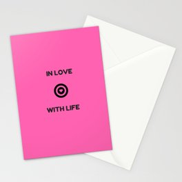 IN LOVE WITH LIFE Stationery Cards