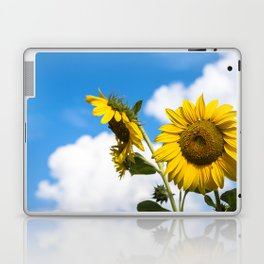 Sunflowers and clouds Laptop & iPad Skin
