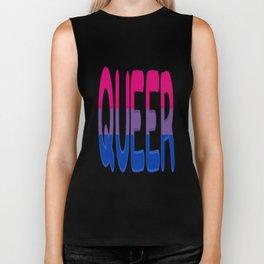 queer - bisexual Biker Tank