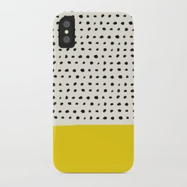 Sunshine x Dots iPhone Case