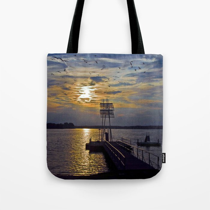 Ex Paradise of the Former Political Upperclass of the GDR in Wandlitz Tote Bag