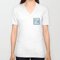 zissou V-neck T-shirts featuring Team Zissou by Thalesrocha