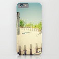 Ocean beach dunes iPhone 6s Slim Case
